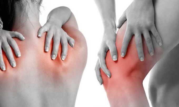 Во время терапии отмечают возникновение таких негативных реакций, как суставные и мышечные боли