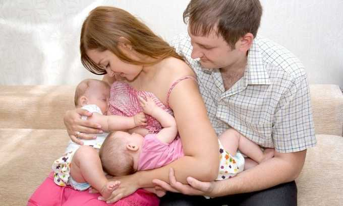 Без опасения Лиотон применяют женщины, которые кормят ребенка грудным молоком