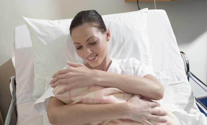 После родов в результате большой потере крови, в сосудах могут появляться кровяные сгустки