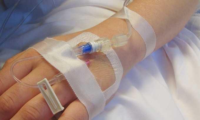 Реосорбилакт начинает действовать через 20-30 минут после введения инфузии