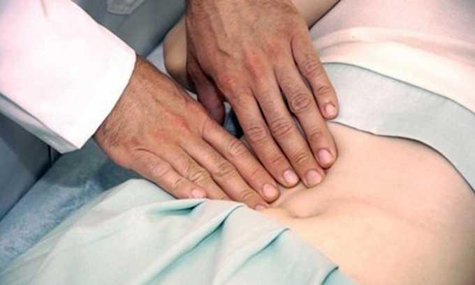 Запрещается пользоваться препаратом после обширных операций на брюшной полости