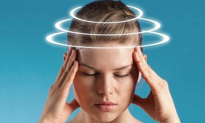 На фоне приема препарата возможны головокружение, мигрень