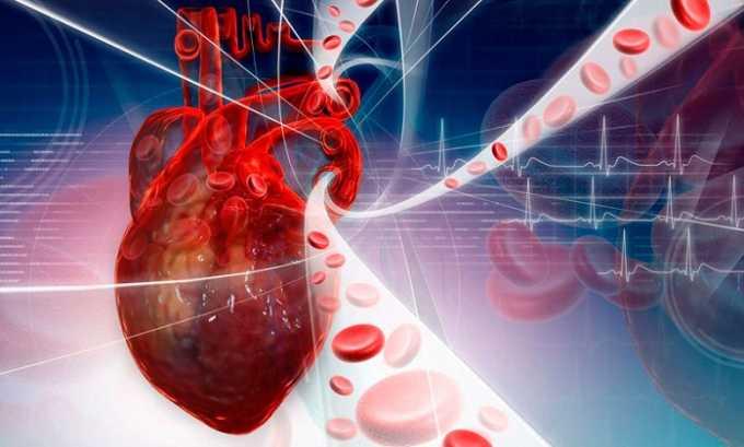 Препарат назначают при болезнях, спровоцированных нарушенным кровообращением