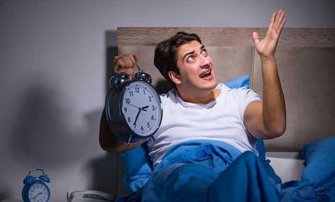 Препарат Пентоксифиллин вызывает появление ночной бессонницы