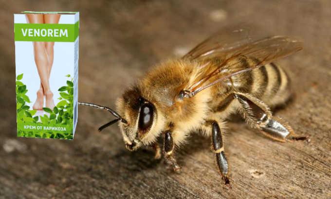 Пчелиный яд обладает умеренным противовоспалительным действием, снижает свертываемость крови, препятствует образованию тромбов