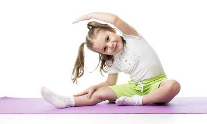 Профилактический прием витамина С в аптечной форме для детей рекомендован при повышенных физических нагрузках