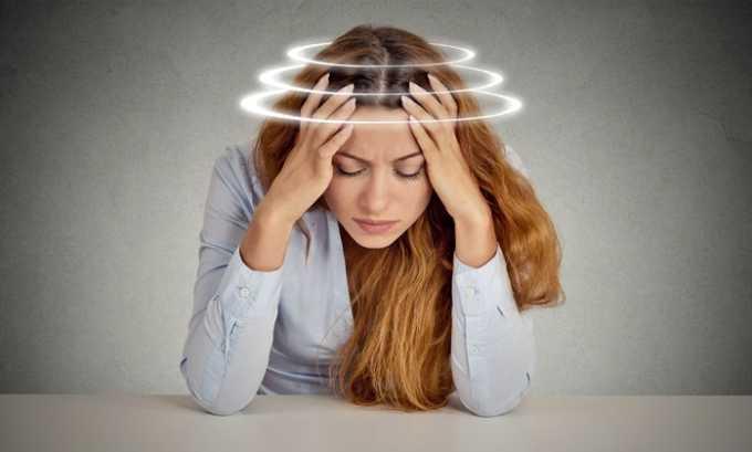 Побочным действием Ксарелто 10 может стать головная боль и головокружение