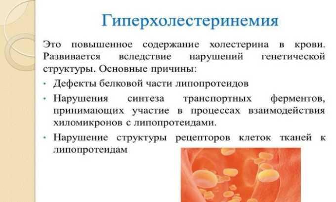 Лекарственное средство применяют при гиперхолестеринемии