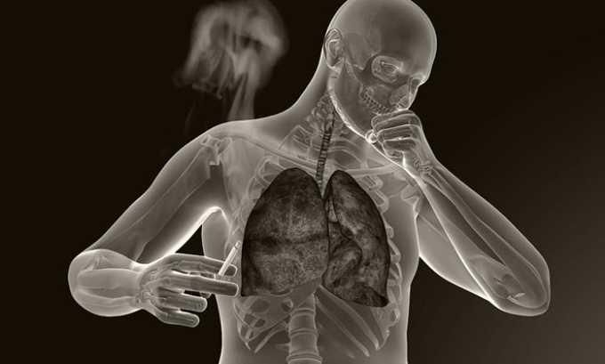 При патологии дыхательных путей употребляют Трипсин
