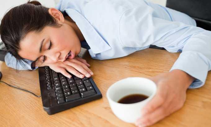 Употребление препарата в чрезмерном количестве может обернуться сонливостью