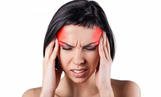 Медикамент эффективен при головной боли, мигрени