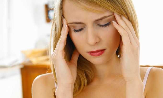 Прием препарата может привести к головокружению