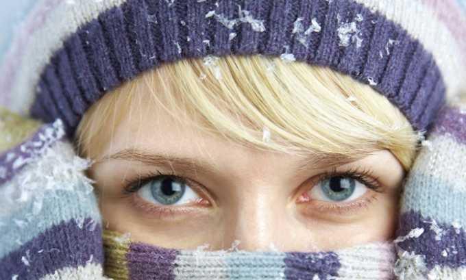 Наиболее частые причины, вызывающие купероз длительное нахождение на морозе, холодном ветру