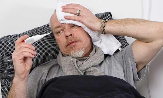 Препарат в некоторых случаях вызывает лихорадку