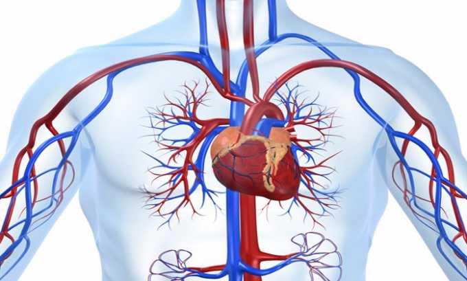 Лекарственное средство применяют для предотвращения сердечно-сосудистых осложнений