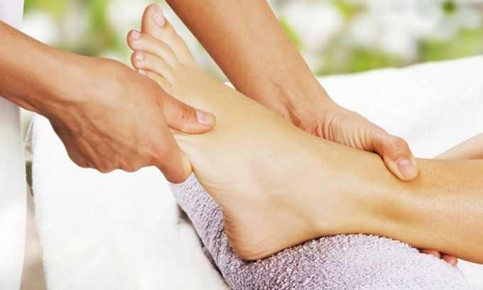 Все виды массажа, в которых ноги будут прогреваться, находятся под запретом