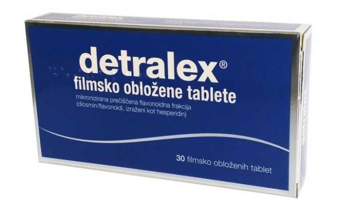 Самым эффективным венотоником, который способствует улучшению тонуса стенок вен, является Детралекс