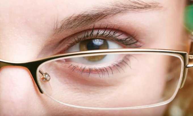 После приема Пентоксифиллина 400 возможно ухудшение зрения