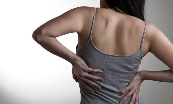 Мазь задействуют в случае отека и боли, возникающих при патологиях мышц и суставов