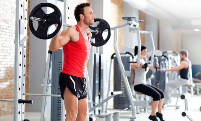 Используется препарат для поддержания физической формы спортсменов