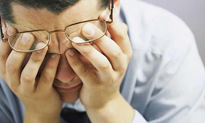 В число побочных эффектов от препарата входит ухудшение зрения