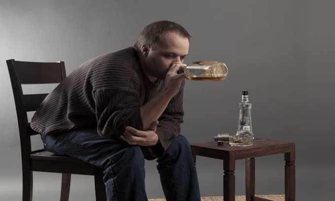 При хроническом алкоголизме назначается Фенотропил