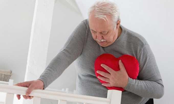 Медикамент назначается пациентам, перенесшим инфаркт миокарда в острой форме