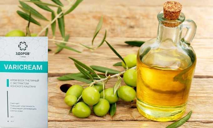 Масло оливковое питает, регенерирует клетки кожи