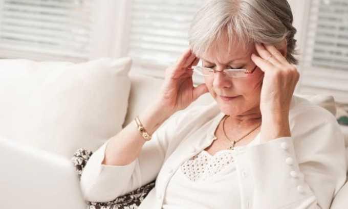 При лечении венотоником могут возникать мигренозные боли