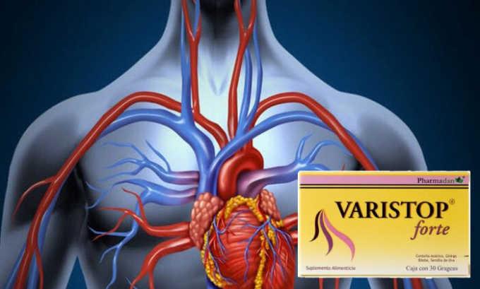 При лечении варикоза гель используется для восстановления кровообращения