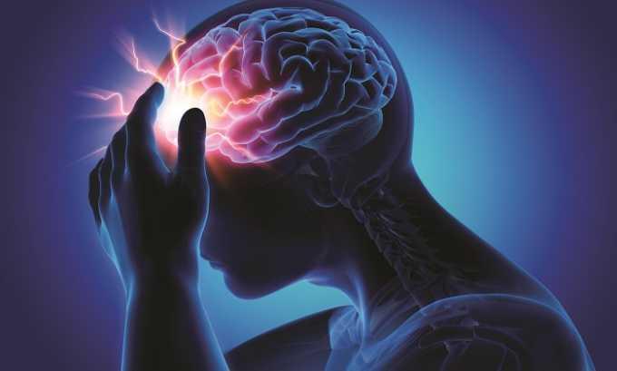 Ишемические поражения тканей головного мозга - показание к применению препарата Пентоксифиллин