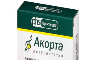 Действие препарата Акорта при варикозе
