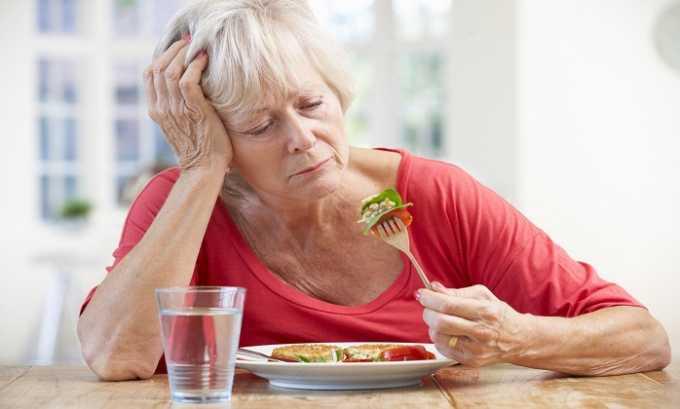 После употребления таблеток может ухудшиться аппетит
