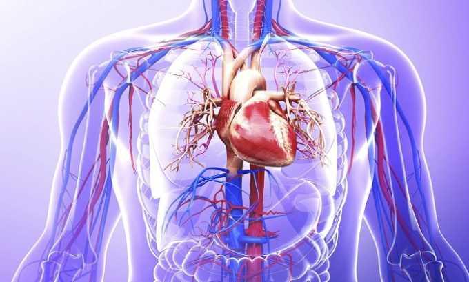 Нарушение питания тканей, связанное с нарушением функций сердечно-сосудистой системы - показание к назначению препарата