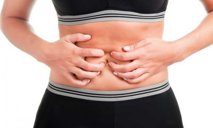 В некоторых случаях пациента могут беспокоить боли в животе