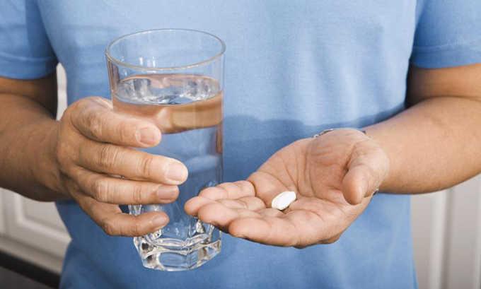 Капсульная форма лекарства принимается внутрь после приема пищи, препарат нежелательно жевать