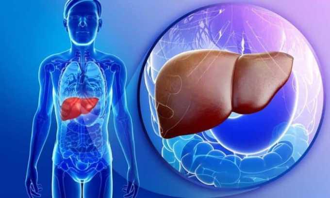 Побочным действием от препарата может быть нарушение функции печени