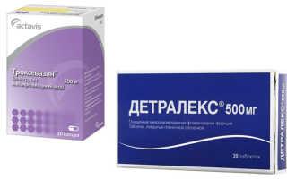 Что выбрать: Детралекс или Троксевазин?