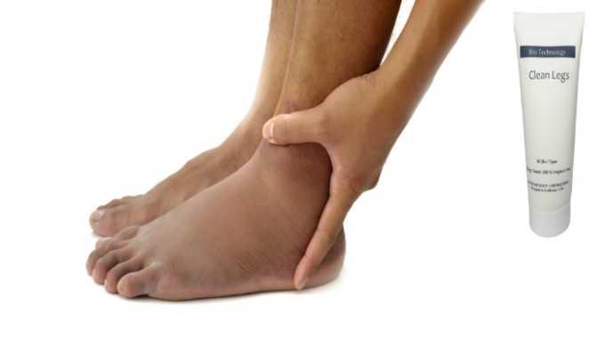 Медикамент показан при отеках на ногах