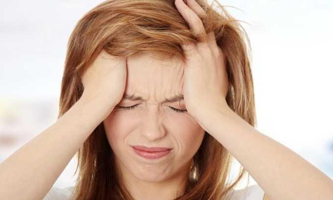 В случае неправильно подобранной дозы или ее самостоятельного увеличения наблюдается головная боль
