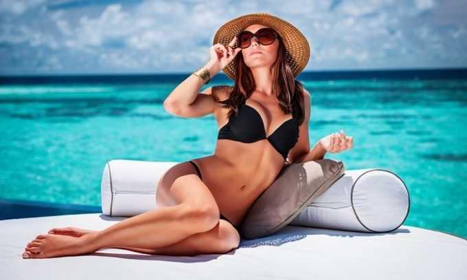 Длительное пребывание на солнце может навредить здоровью кожи и спровоцировать образование купероза