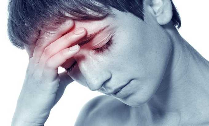 Во время лечение Вазонитом возможно появление головных болей