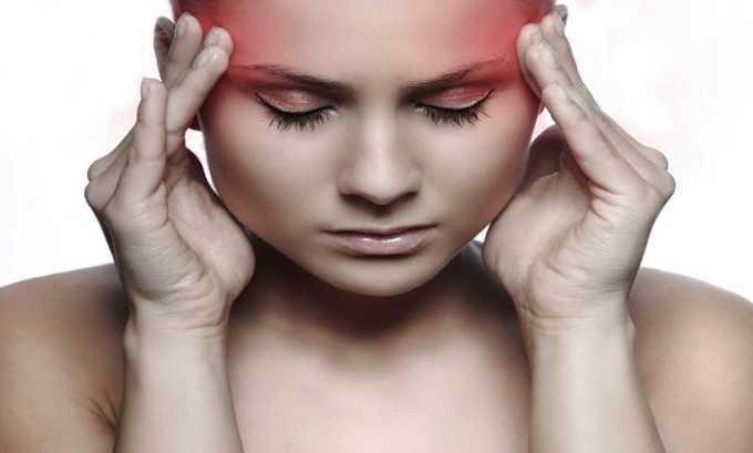 У некоторых пациентов во время лечения Диофланом отмечались головные боли и головокружения