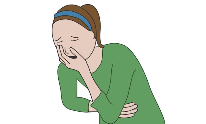 Тошнота, считается признаком передозировки