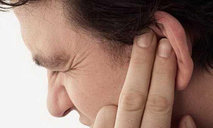 Побочным эффектом при приеме Торвакарда может быть гул в ушах
