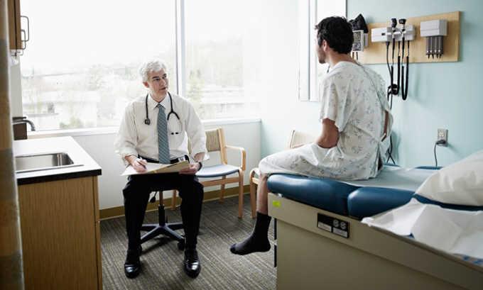 Для предупреждения сосудистых осложнений больному назначают диагностические исследования