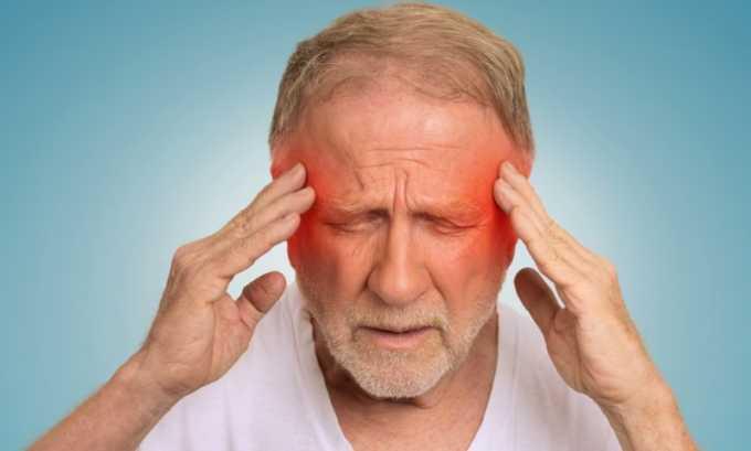 При длительном курсе приема лекарства возможны нарушения в отношении центральной нервной системы, которые проявляются головокружением
