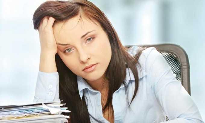 Слабость - один из побочных эффектов препарата