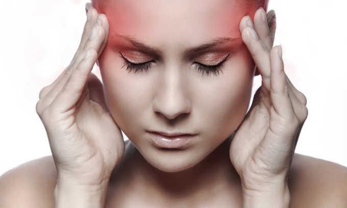 После приема лекарства иногда наблюдаются головные боли