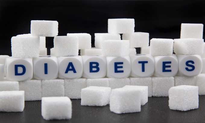 Относительным противопоказанием к употреблению медикамента является сахарный диабет